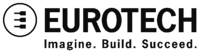 Eurotech Logo+Pay Off Black PNG