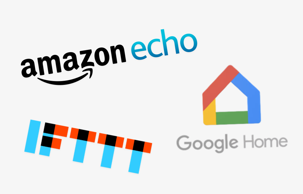 smarthome integrations with Amazon, Google, IFTTT